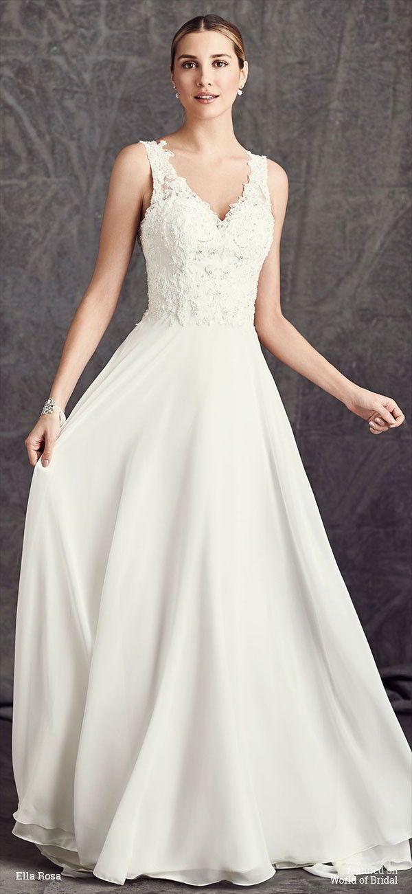 Ella rosa spring 2016 wedding dresses private label by g for Private label wedding dresses