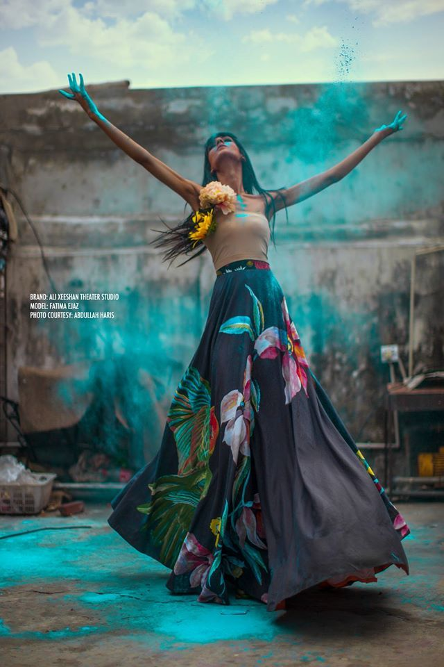 Ali Xeeshan's beautiful editorial shot by Abdullah