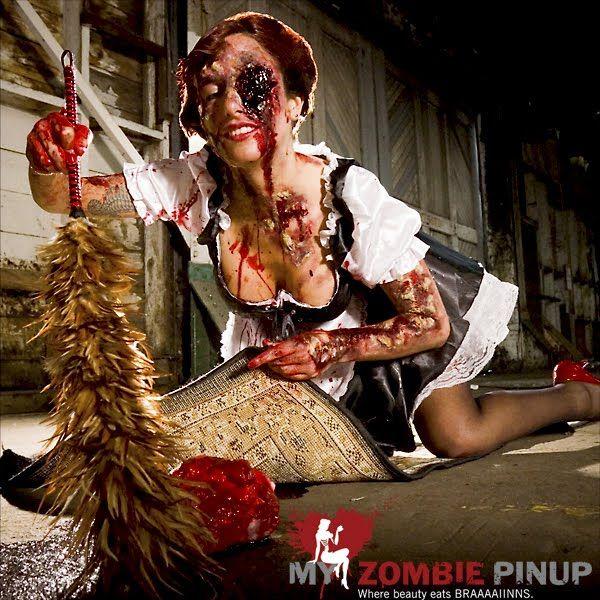 yago's web: Zombie Pin-Up Calendar - Calendrier 2009 de Pin Up Zombies
