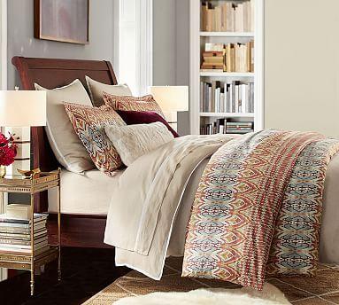 Valencia II Sleigh Bed #potterybarn