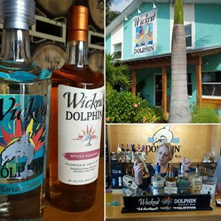 The award winning Wicked Dolphin Rum distilled in Southwest Florida. Wicked Dolphin Distillery located in Cape Coral has opened it's doors for tours.