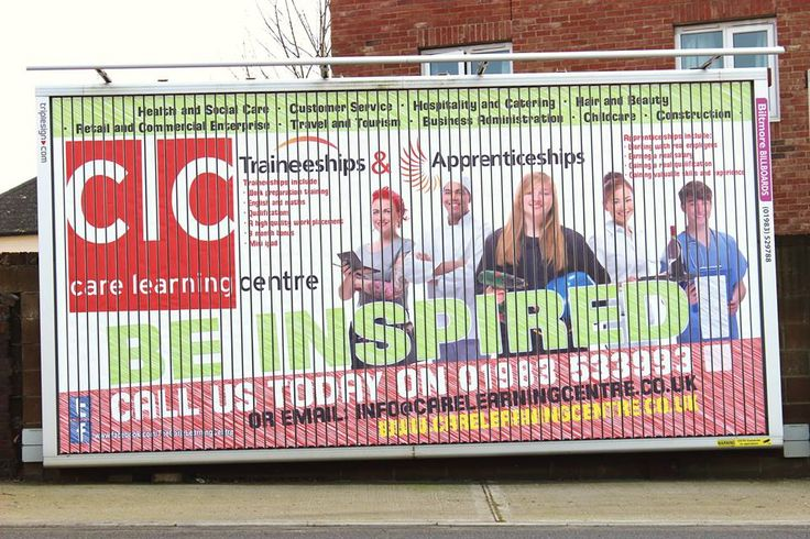 Check out our new billboard too!