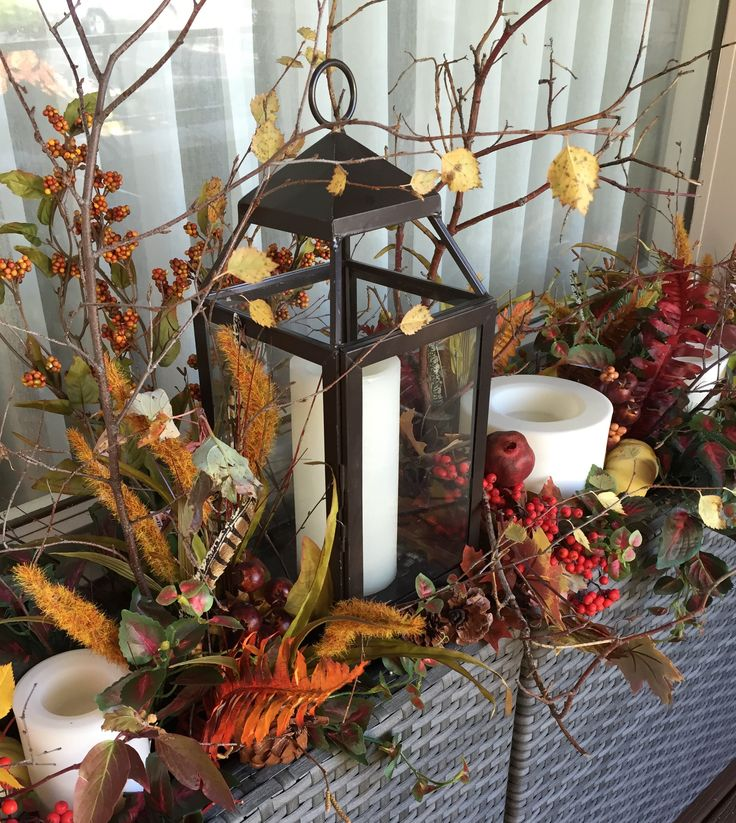 Clever Ideas for Autumn Decorating