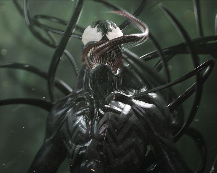 ArtStation - Venom reborn, Limkuk .