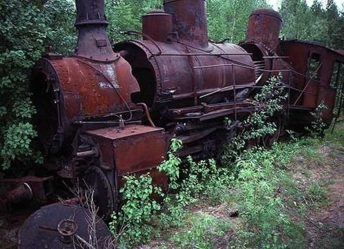 """An abandoned railway in Abkhazia. Abandoned as a result of USSR collapse when new """"independent"""" republics couldn't maintain the complicated ..."""