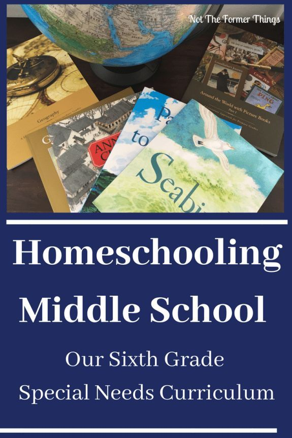 Homeschooling Middle School Our Sixth Grade Special Needs