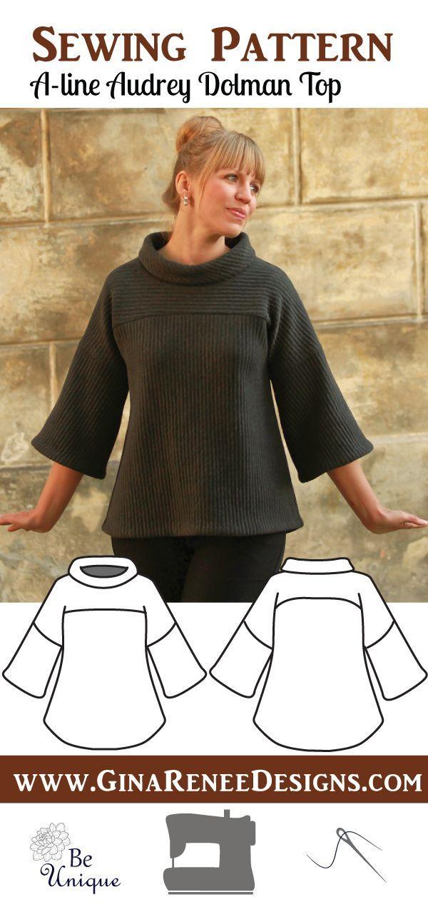 NEU :: Pullover Schnittmuster