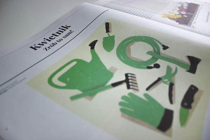 W drugim wydaniu Magazynu pojawił się także krótki instruktaż dotyczący wykonania własnego, oryginalnego kwietnika ;)