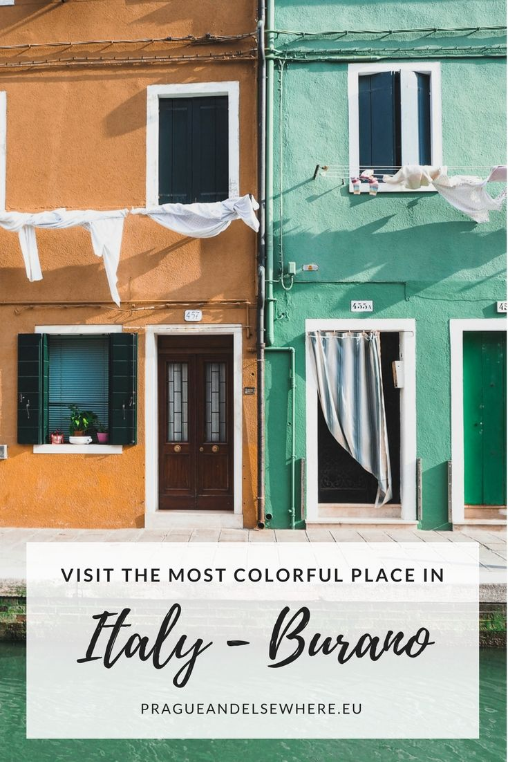 Visit Burano, Italy, most colourful island | Burano Travel Tips | Venice #burano #italy