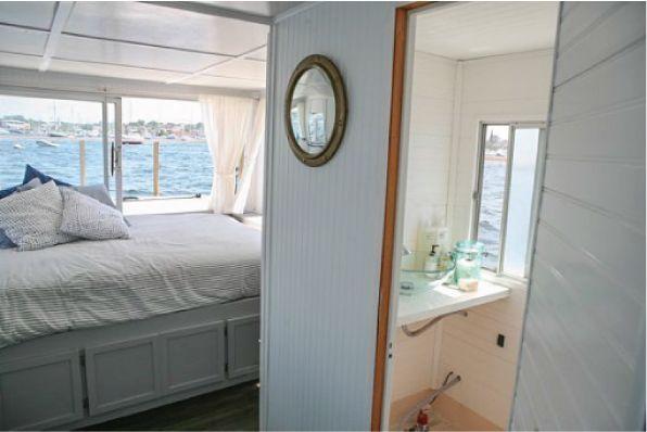 Vintage Houseboat