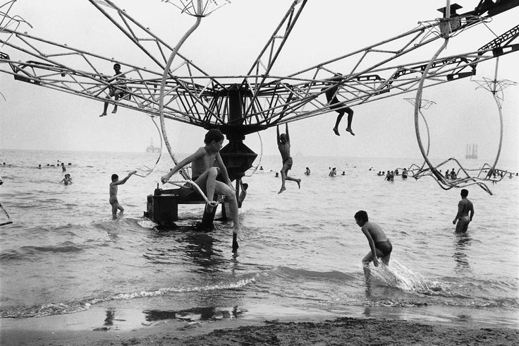 Caspian Sea, Baku, Azerbaijan by Jason Eskenazi, Wonderland Series 1997