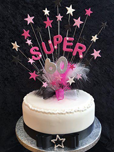 Super 60 Birthday Cake Topper With Glittered Number & Mar... https://www.amazon.co.uk/dp/B0745CQXMZ/ref=cm_sw_r_pi_dp_x_XG4Czb1FD80T7
