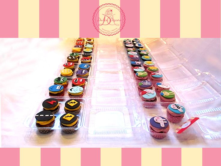 50 Cupcakes Cars y Peppa Pig