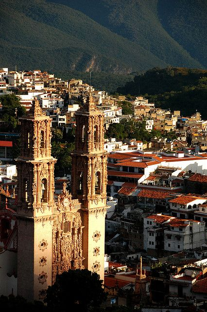 Taxco, Mexico. Mexico would be fun to travel to!