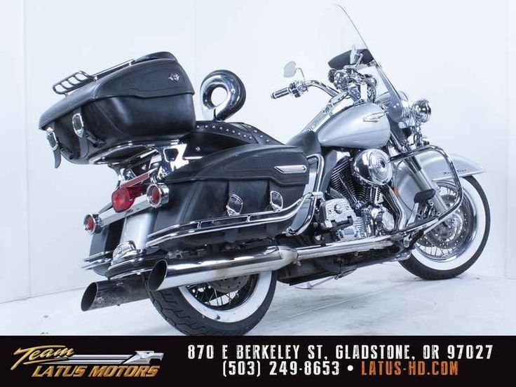 Used 2005 Harley-Davidson FLHRCI - Road King Classic Motorcycles For Sale in Oregon,OR. 2005 Harley-Davidson FLHRCI - Road King Classic, This 2005 Harley-Davidson Road King Classic Comes with Corbin Seat, tour pack, aftermarket grips, windscreen bags, high flow intake, aftermarket exhaust and speakers. This 2005 Harley-Davidson Road King Classic Comes with Corbin Seat, tour pack, aftermarket grips, windscreen bags, high flow intake, aftermarket exhaust and speakers.