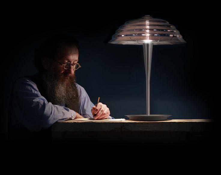 Lampada da tavolo Collezione Touché by Produzione Privata   design Michele De Lucchi, Alberto Nason