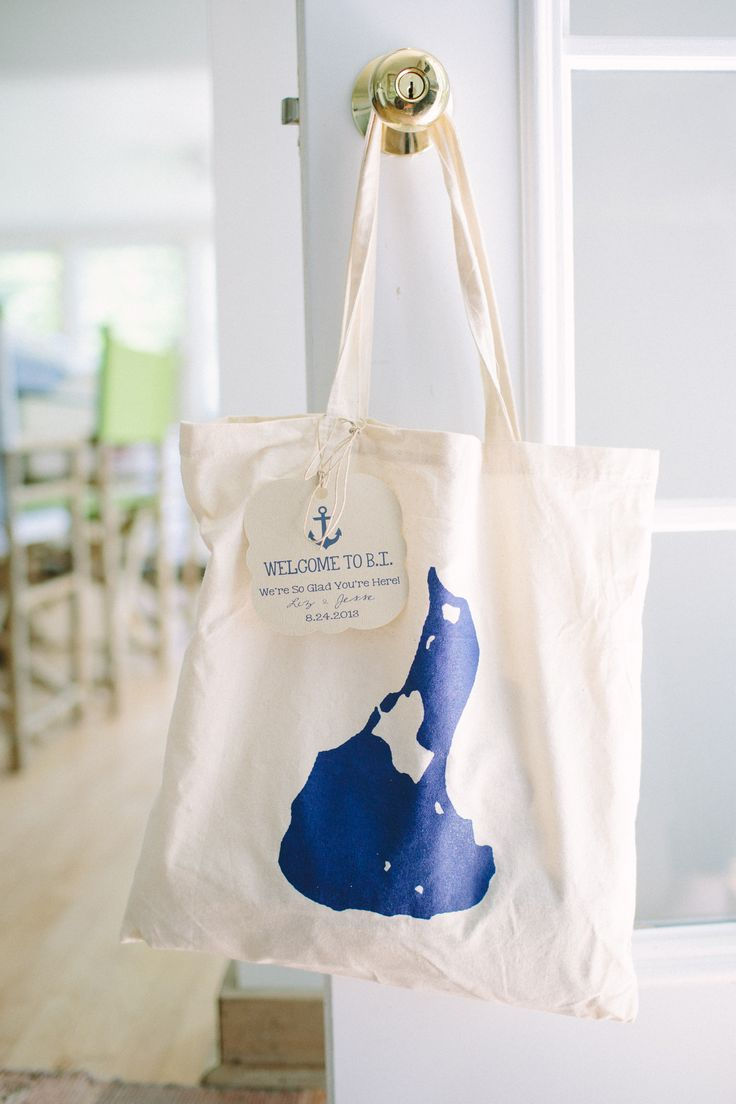 Welcome bag inspo
