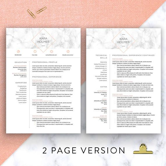 Clean, beautiful, and modern yet artsy Resume Template for the modern professional. Showcase your career, with the ability to choose between a 1, 2, or 3 page resume with easy-editable sections. This template is fully customizable so you can tailor-make your resume for any job.