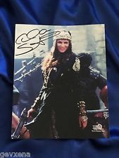 RARE Alti (Claire Stansfield) SIGNED Photo from Xena
