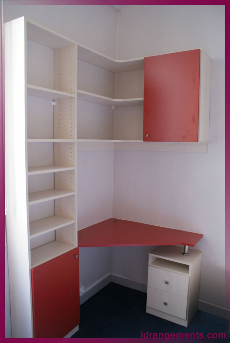 Idée Bureau D Angle bureau d angle petit espace | bureau, bureau angle et petit