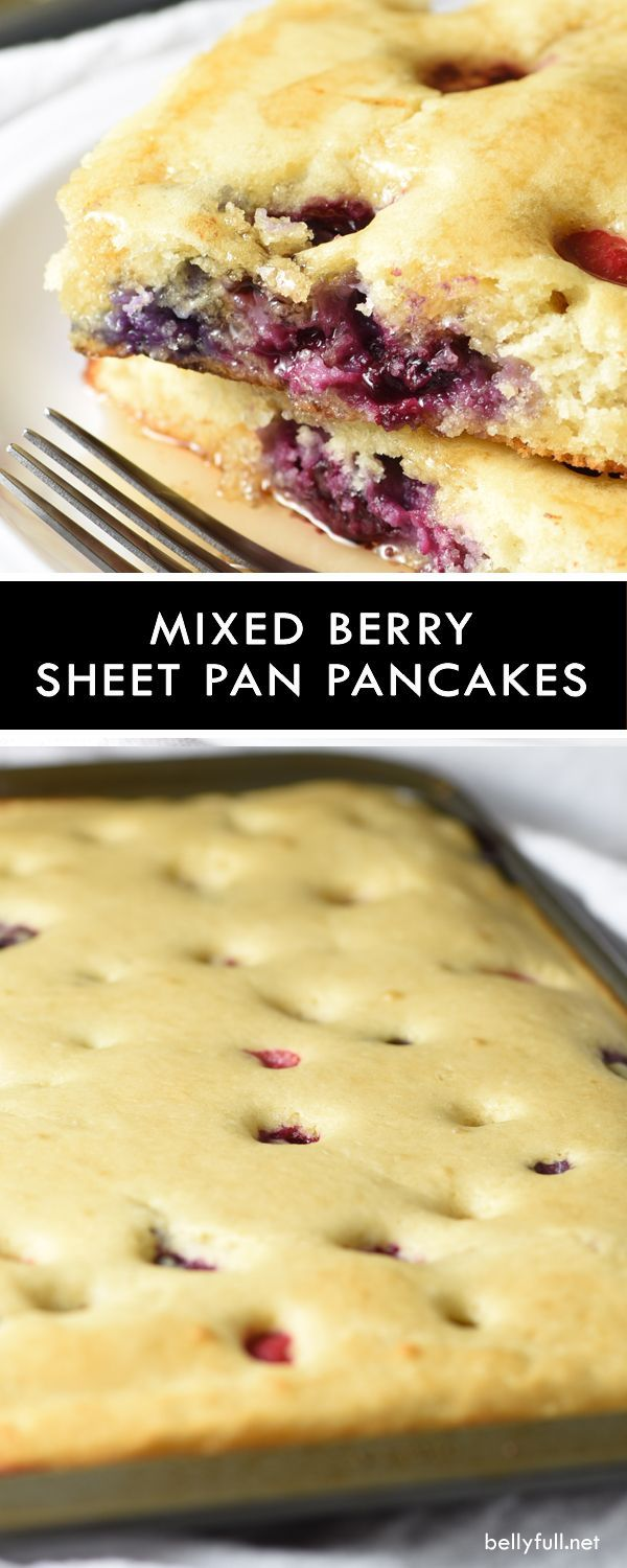 Breakfast just got a lot easier and faster with these Sheet Pan Pancakes! Same great flavor and texture, but no more waiting, flipping, and family members eating in shifts. It's the best thing since sliced bread.