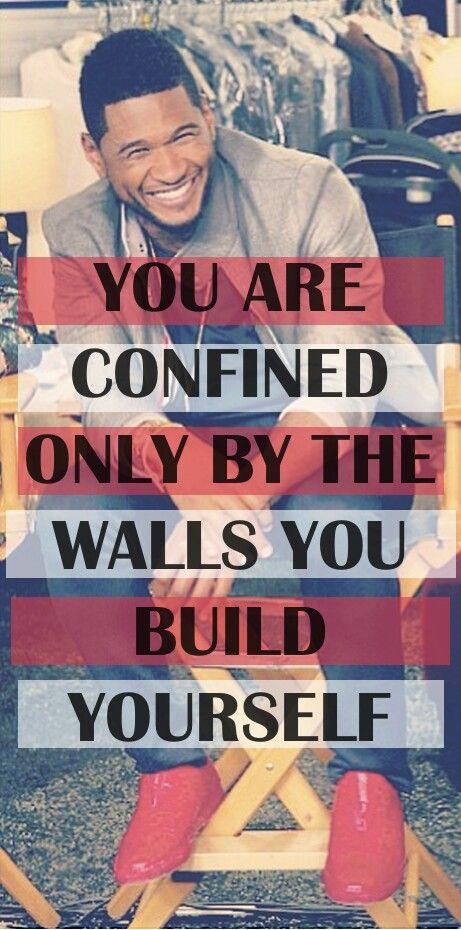 Break down those walls