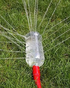 Irrigando ou brincando? Uma dica prática e divertida para o jardim   Vila do Artesão