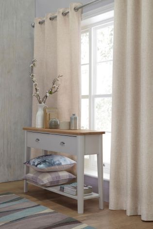 Buy Delicate Weave Eyelet Curtains from the Next UK online shop