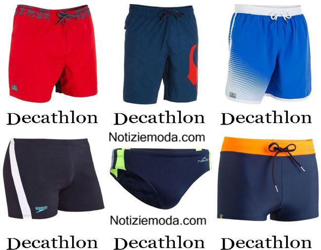 Moda mare Decathlon estate 2015 costumi da bagno shorts uomo