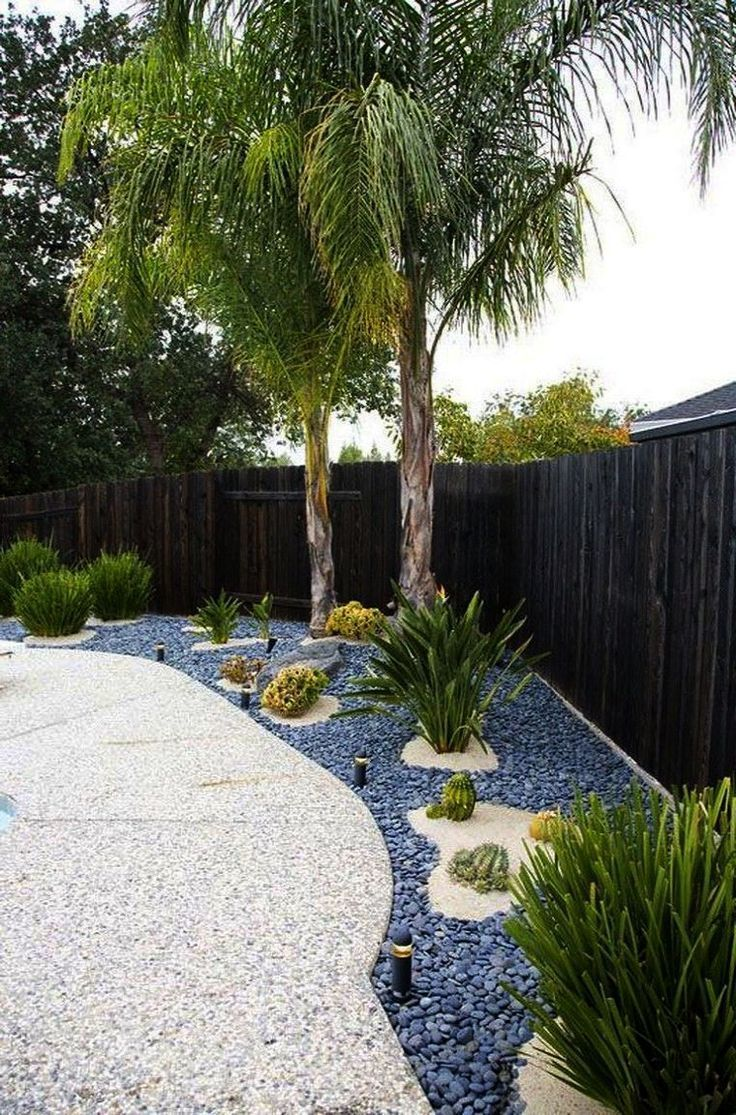 Backyard Landscaping Ideas For Privacy Yet Landscape Gardening Jobs In Canada It Backy In 2020 Modern Backyard Landscaping Backyard Landscaping Tropical Landscaping