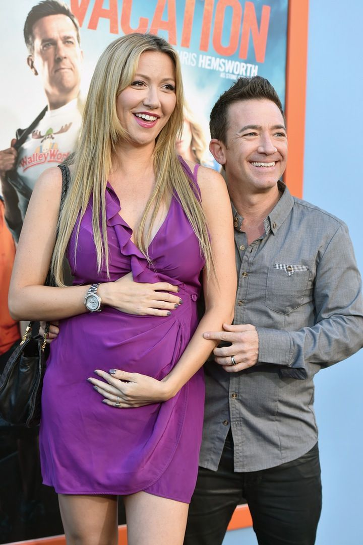 It's a Girl!: David Faustino and Fiancée Lindsay Bronson Welcome First Baby