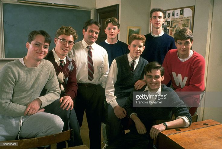 FILM 'DEAD POETS SOCIETY' BY PETER WEIR