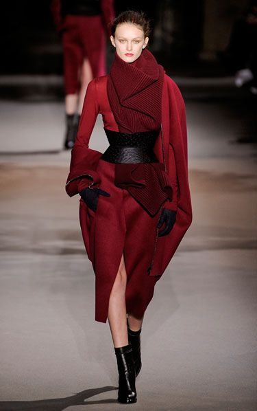 Haider Ackermann -- love the shades of wine. #porteropintowin