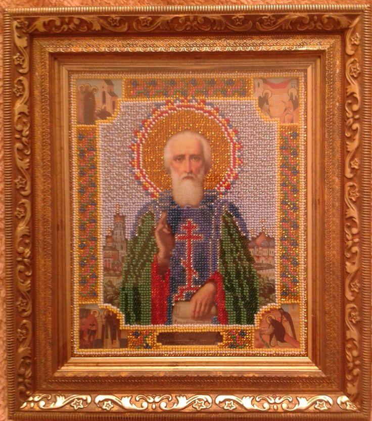 Икона Святого Сергия Радонежского