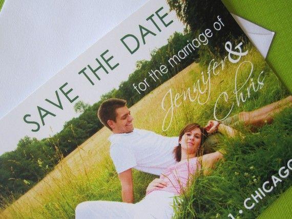 Save the Date. Photo card Idea