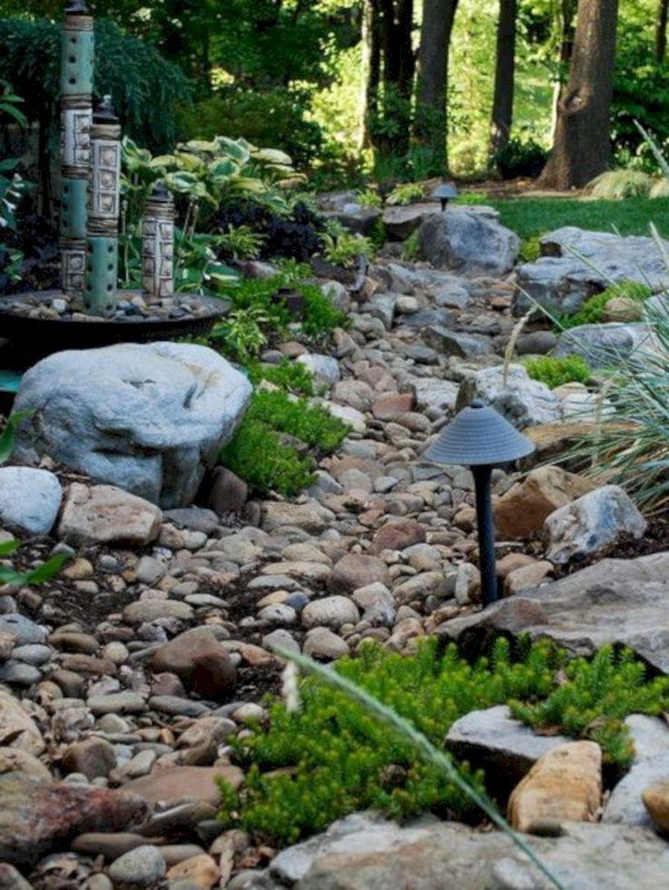 48 Creative Backyard Rock Garden Ideas To Try Rock Garden