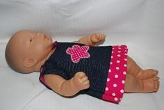 Baby Doll Clothing Tutorial and PDF for three outfits - may need to be adapted slightly for AG