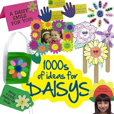 Hundreds of Daisy Girl Scout Ideas from MakingFriends.com