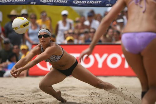 I wish i could quit my job and play Beach Volleyball full time. I would be a happy, fit, and tan girl!