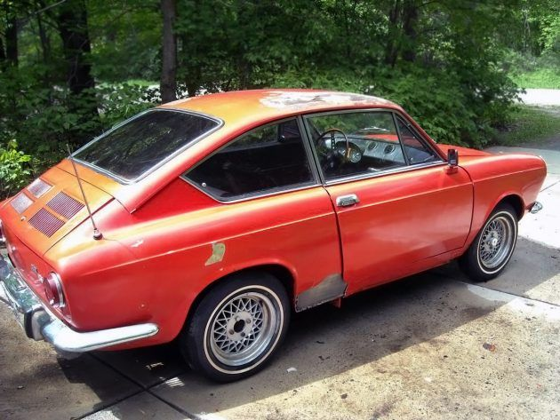 A Decade In Storage 1968 Fiat 850 Coupe With Images Fiat 850