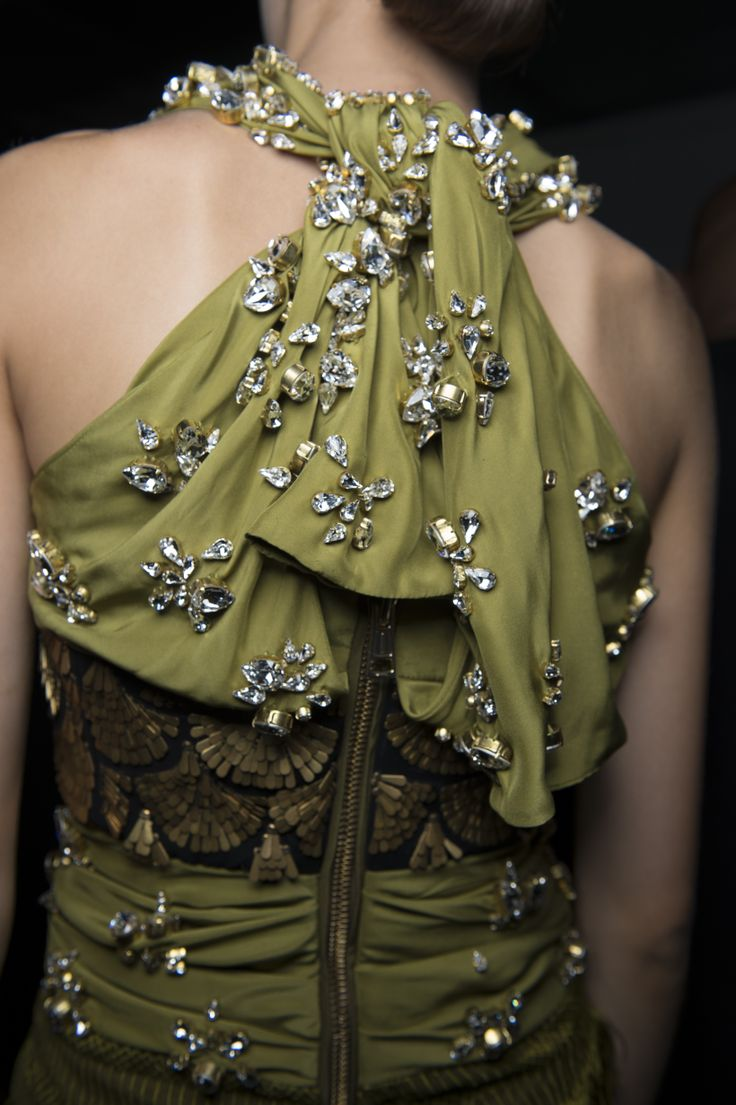 75 Best The Greens Images On Pinterest Green Gown Evening Gowns Eozy Luxury Women Sleeveless Lace Long Maxi Dress European Style Altuzarra Spring 2013 Rtw Back View Of A Swarovski Detailed Photo By Jason Lloyd Evans