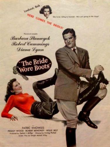 La amazona caprichosa - La novia llevaba botas - 1946