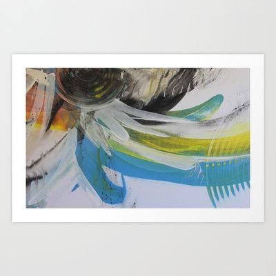 Space and colour 1 Art Print by Adam Craemer - $19.90