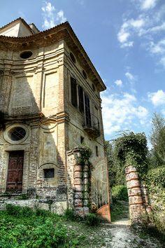 The abandoned Villa Zanelli Savona, Italy.