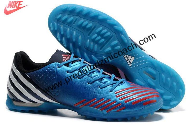 Wholesale Discount Adidas Predator LZ TRX TF - Bright Blue-Infrared-Running White Football Shoes For SaleFootball Boots For Sale