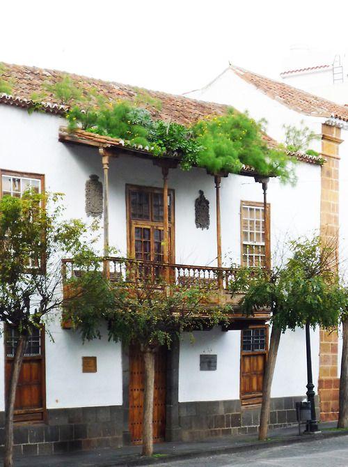 108 mejores im genes sobre balcones y patios canarios en - Casas de madera en gran canaria ...