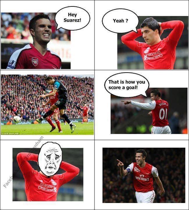 Gotta love Arsenal memes.