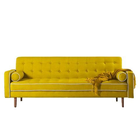 Whangamata sofa bed - mustard