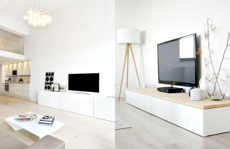 Biała szafka / kredens pod telewizor.