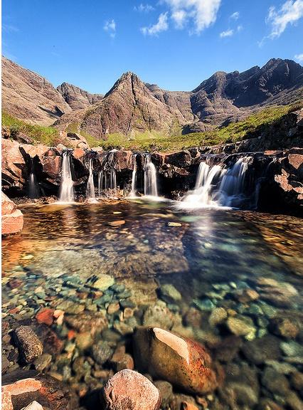 The Fairy Pools  The Isle of Sky, Scotland
